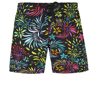 Boys Others Printed - Boys Swimwear Stretch Evening Birds, Black front