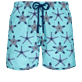 男款 Ultra-light classique 印制 - Men Swimwear Ultra-light and packable Starfish Dance, Lazulii blue front