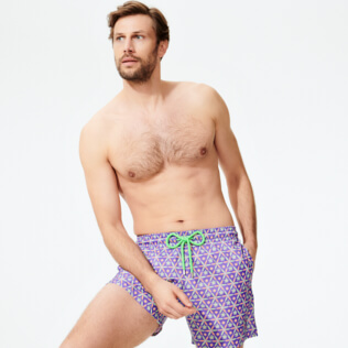 Men Ultra-light classique Printed - Men Swimwear Ultra-light and packable Indian Ceramic, Madras supp2