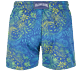 Homme Coupe longue Imprimé - Maillot de bain Homme Stretch Evening Birds, Bleu batik back