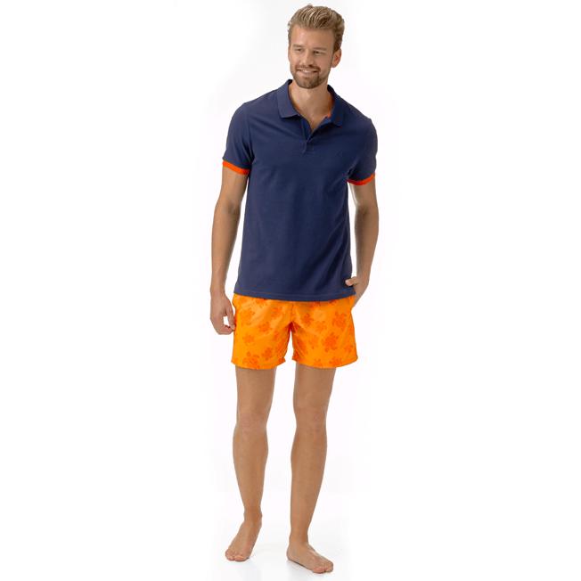 Vilebrequin - Men Cotton Pique Polo Shirt Solid - 5