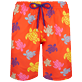 Men Long classic Printed - Men Swim Trunks Long Tortues Multicolores, Medlar front
