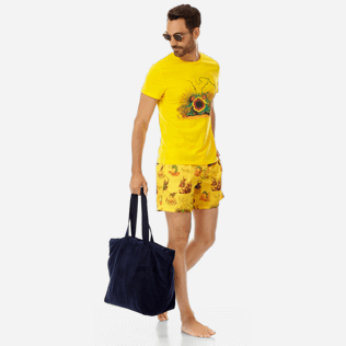 Men Ultra-light classique Printed - Men Ultra-Light and packable swimtrunks Joker Queen, Christophine supp2