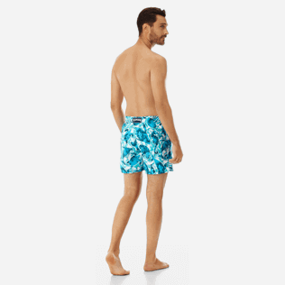Men Classic Printed - Men swimtrunks Double Focus - Web Exclusive, Mint backworn