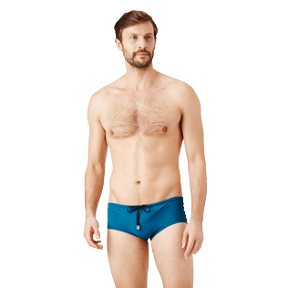 Men Swim brief and Boxer Solid - Men Fitted Swim briefs Tuxedo, Spray frontworn