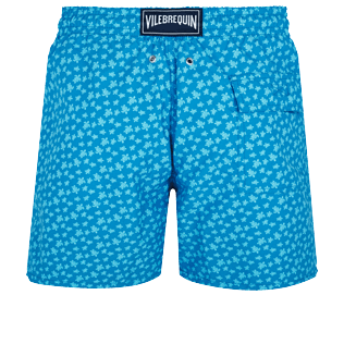 Men Classic Printed - Men Swimwear Micro Ronde des Tortues, Hawaii blue back