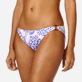 Women Classic brief Printed - Women Bikini Bottom Mini Brief Jungle Turtles, White supp1