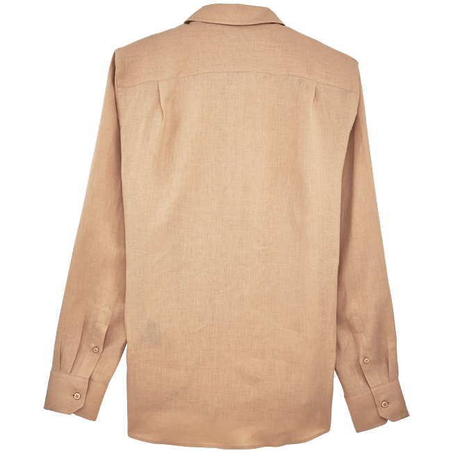 Vilebrequin - Camisa de lino liso para hombre - 2