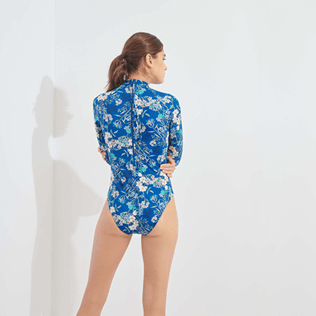 Women Others Printed - Women Rashguard Botanicals, Botanicals backworn