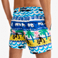Men Classic Printed - Men Swimwear La Mer - Vilebrequin x JCC+ - Limited Edition, White back