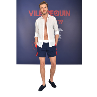 Men Tricolor Look,  front