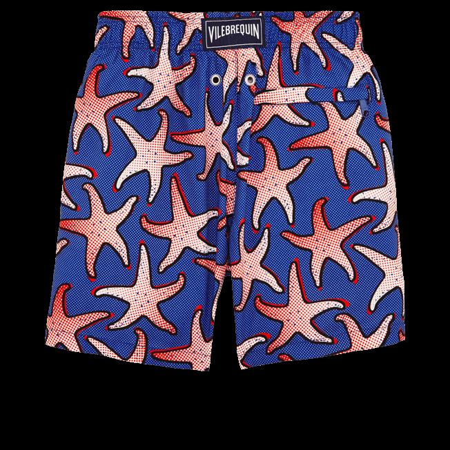 Vilebrequin - Maillot de bain Garçon Ultra Léger et Pliable Starfish Art - 2