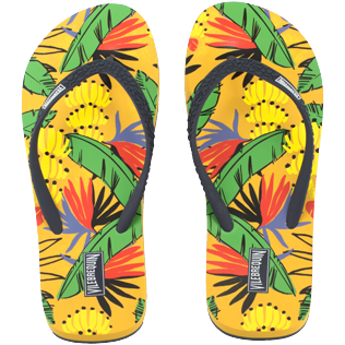 Women Others Printed - Women Flip Flops Go Bananas, Curry front