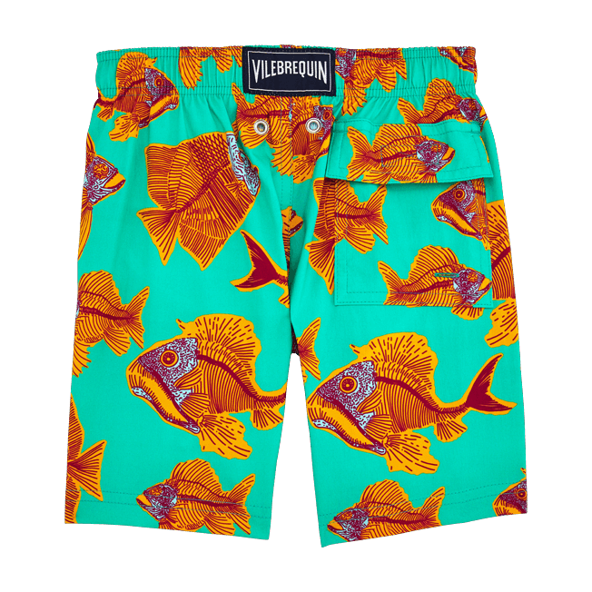 Vilebrequin - Prehistoric Fish Superflex Swim Shorts - 2