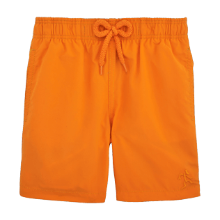 Boys Classic / Moorea Printed - Water-reactive Danse du feu Swim Shorts, Papaya front