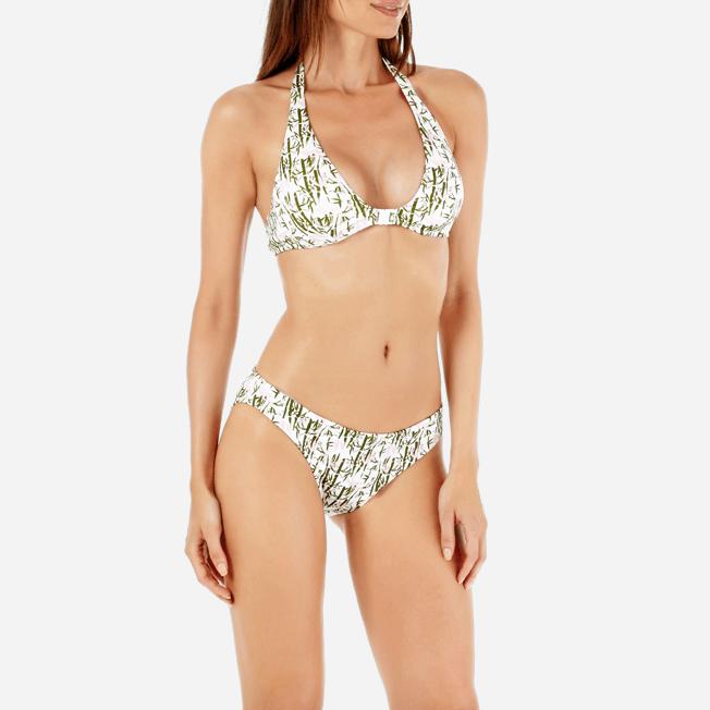 Vilebrequin - Braguitas de bikini de talle alto con estampado Bamboo Song para mujer - 5