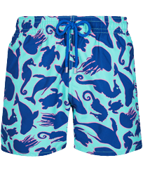 Men Classic Printed - Men Swim Trunks 1999 Focus, Lazulii blue front