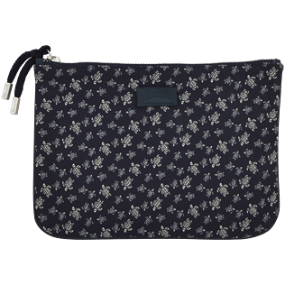 Others Printed - Micro Ronde des Tortues Zipped case, Navy front