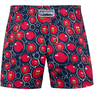 Girls Others Printed - Girls Swim Short Crackers, Navy back
