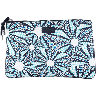 Others Printed - Beach Pouch Oursinade, Navy front
