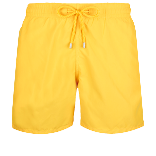 Men Classic Solid - Men Swimwear Solid, Curry front