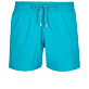 Men Stretch classic Solid - Men Swimwear Stretch Micro Ronde des Tortues, Light azure front