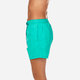 Men Classic Printed - Water-reactive Sardines à l'Huile Swim shorts, Veronese green supp3