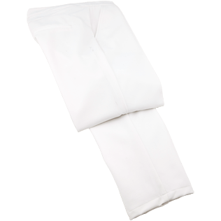 Women Pants Solid - Solid Skypants, White front