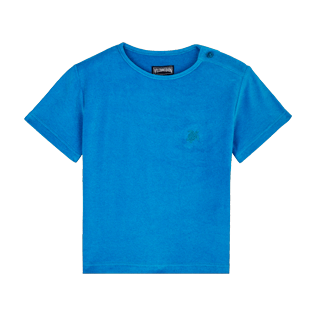 Boys Others Solid - Boys T-Shirt Terry Cloth Solid, Hawaii blue front