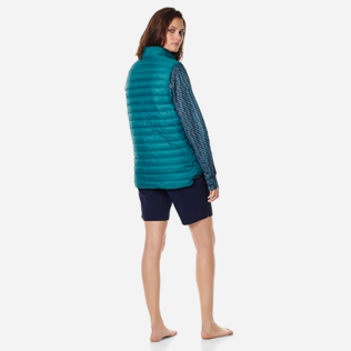 Others Solid - Unisex Sleeveless Down Jacket Solid, Pine wood supp3