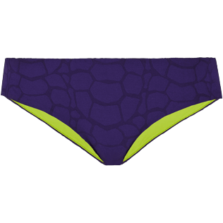 Women Classic brief Solid - Women covering brief bikini Bottom Ecailles de Tortue, Reddish purple front