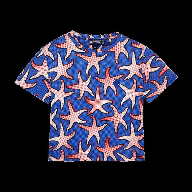 Vilebrequin - Boys Cotton T-shirt Starfish Art - 1