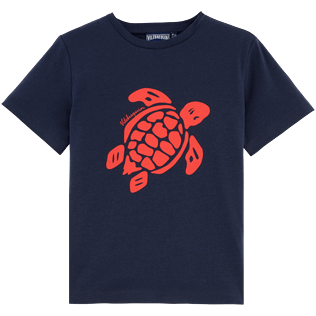 Boys Tee-Shirts Printed - Turtles Tee Shirt, Navy front