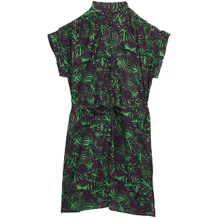 Women Others Printed - Women Cotton Shirt Dress Madrague, Grass green front