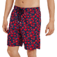 Men Long classic Printed - Men Swimwear Long Stretch Crackers, Navy supp1