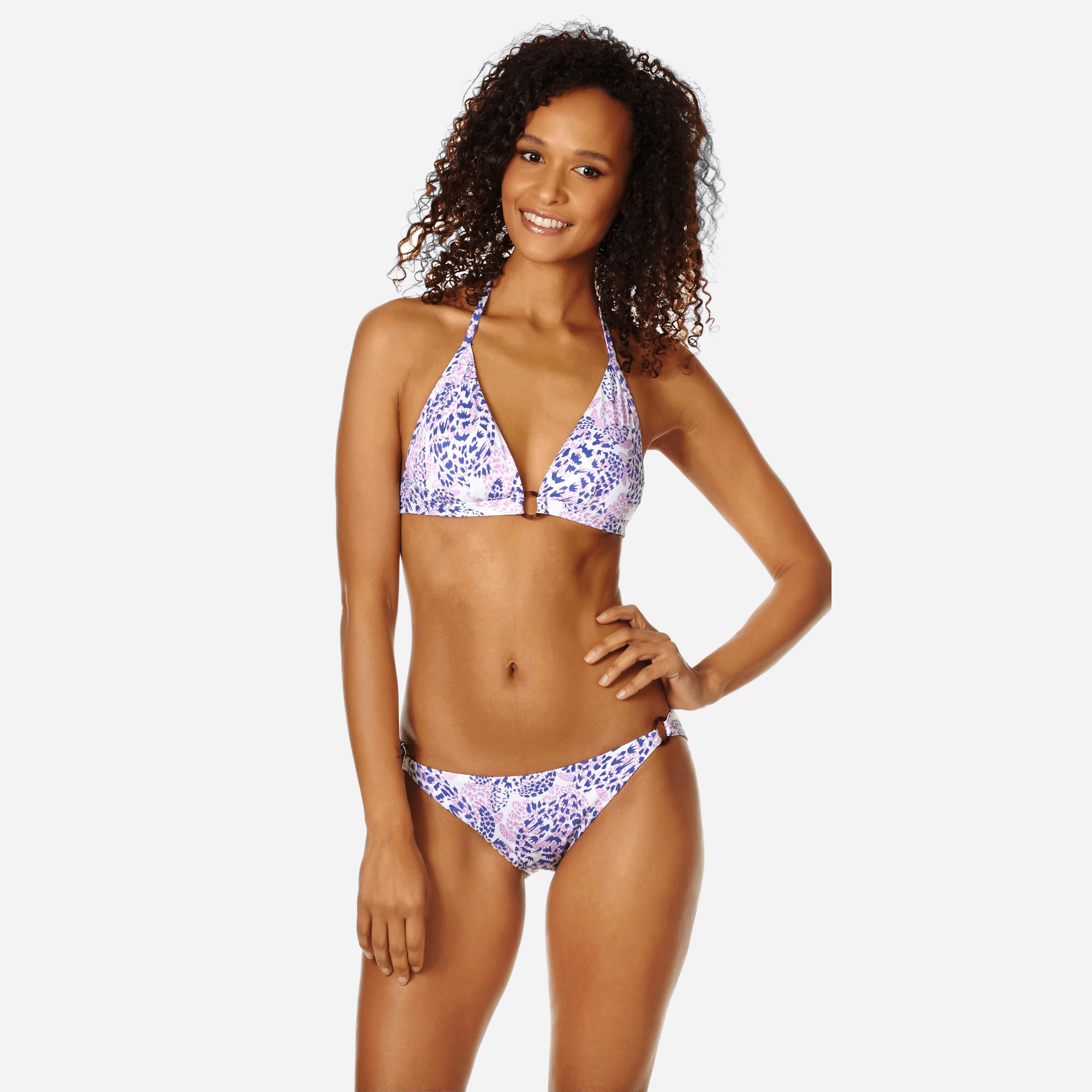 VILEBREQUIN | Women Swimwear - Women Bikini Halter Top Jungle Turtles - SWIMMING TRUNK - FLECHETT - White - XXS - Vilebrequin | Goxip