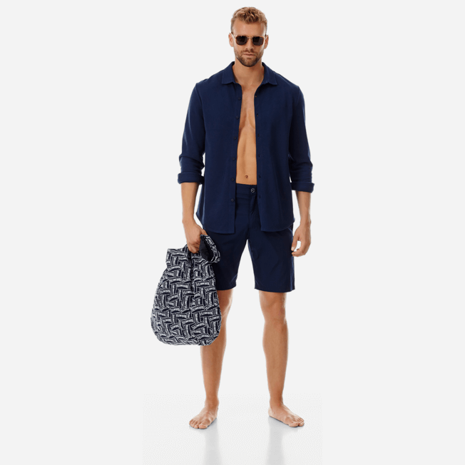 Vilebrequin - Men Cotton Pique Shirt Massimo Vitali - 6