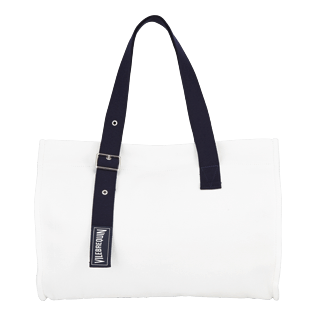 Bags Solid - Large Solid Beach Bag, White front