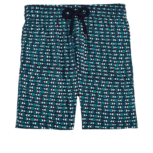 Vilebrequin - Boys Stretch Swimwear Modernist Fish - 1