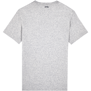 Men Others Solid - Men Pima Cotton Jersey T-Shirt Solid, Heather grey back