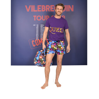 Look de plage Queen Tour,  front