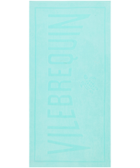 Others Solid - Beach Towel in terry cloth Solid Jacquard, Lagoon front