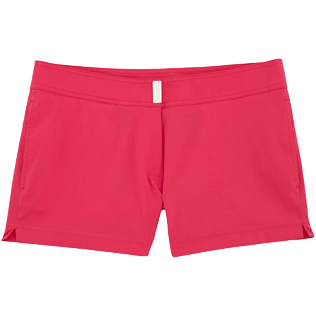 Women Shorties Solid - Solid Stretch shortie, Shocking pink front
