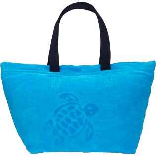 Others Solid - Unisex Large Beach Bag Solid, Hawaii blue front