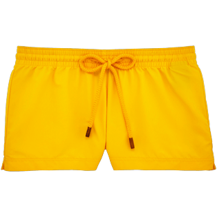 Women Shorties Solid - Women Shortie Solid, Turmeric front
