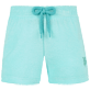 Girls Others Solid - Girls Terry Cloth Shortie Solid, Lagoon front