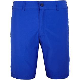 Men Others Solid - Men Straight Swimwear fabric Bermuda Shorts Solid, Neptune blue front