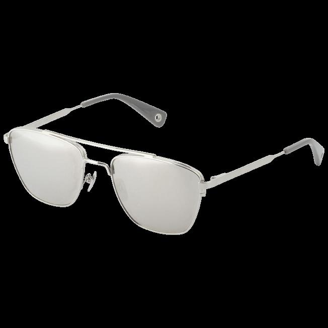 Vilebrequin - Lunettes de soleil argent effet miroir - 2