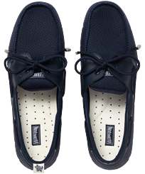Men Others Solid - Men Waterproof Loafers, Navy front