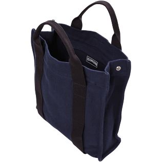 Others Solid - Cotton Beach Backpack Solid, Navy supp2